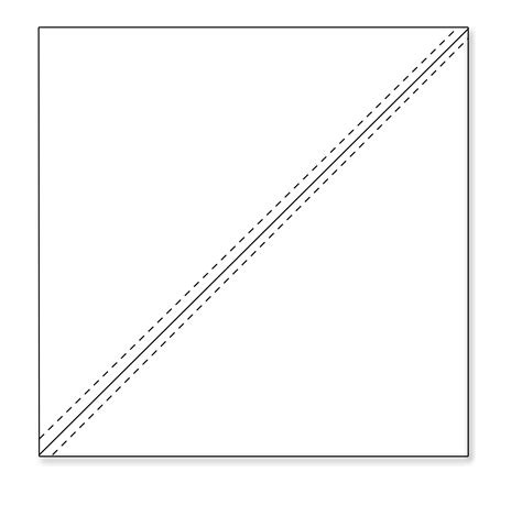 Triangle Square half square triangles hobby stash