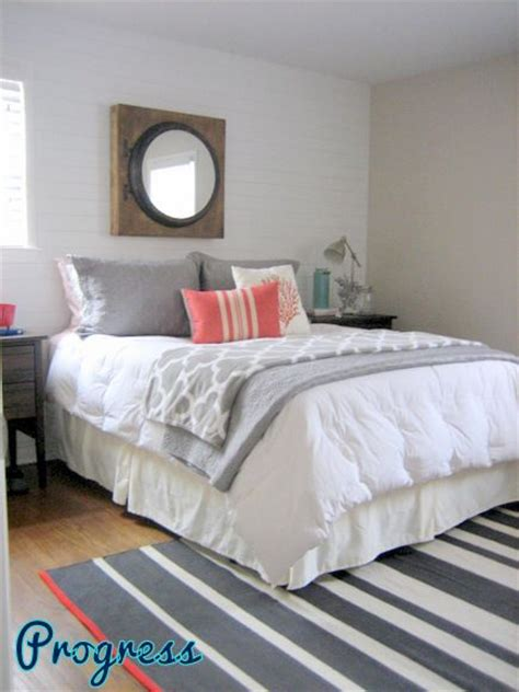grey bedroom with teal accents gray and coral bedroom with teal accents i love these