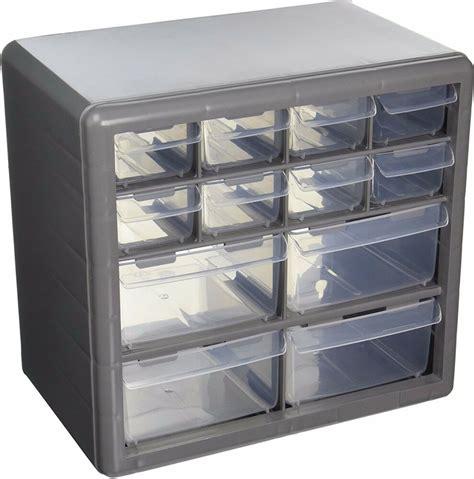 storage organizer cabinet  plastic drawer boxes parts container bin toy garage ebay