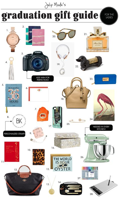 presents for julip made graduation gift guide for the