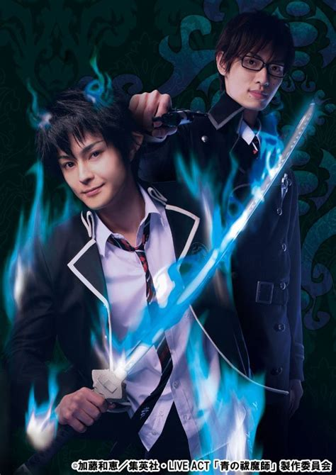 download film anime exorcist crunchyroll quot blue exorcist quot stage play cast and details