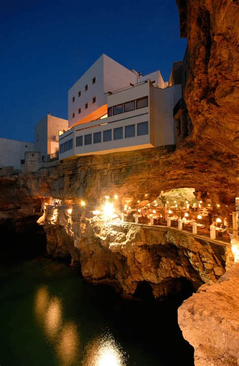 grotta palazzese hotel breathtaking italian restaurant built inside a cave