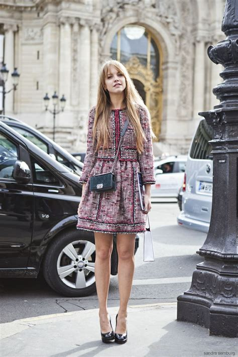 wear tweed glam radar