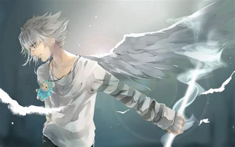 wallpaper anime angel boy anime boy wallpapers group with 78 items