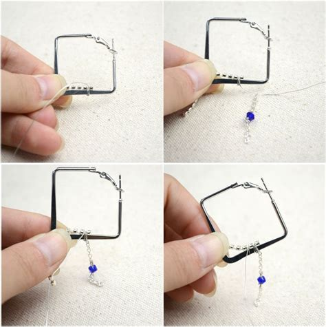 how to make cheap jewelry diy hoop earrings with simple and inexpensive stuffs 183 how