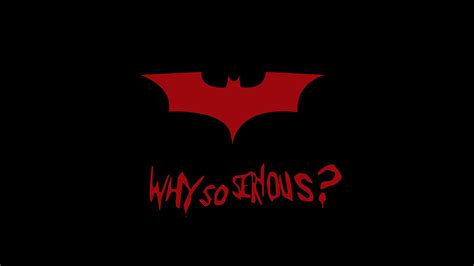 why so serious hd wallpaper batman why so serious 4k 8k wallpapers hd wallpapers
