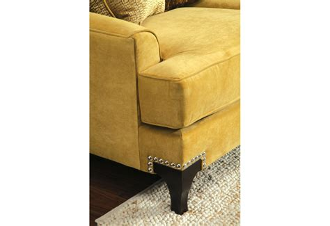 Gold Living Room Chairs Sm 2201 Gold Living Room Set Nailhead Trim T Cushion Seating