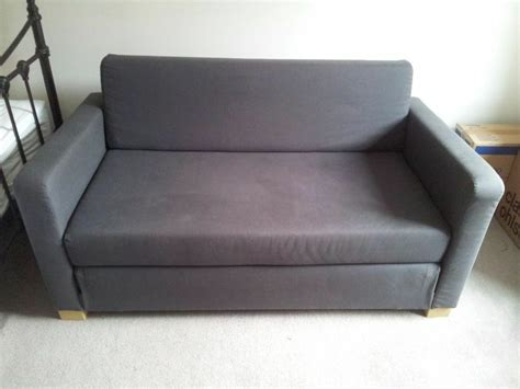 Two Seater Sofa Bed Ikea by Ikea Ullvi 2 Seater Sofa Bed In Grey In Kingston