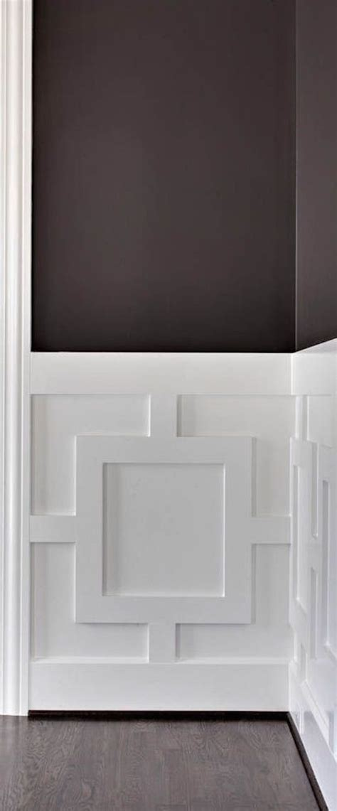 Contemporary Wainscoting Ideas by Architectural Details Decorative Wood Paneling
