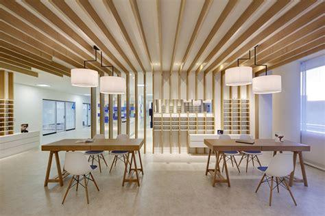 home retail design cagnolati optometry by heikaus duisburg germany