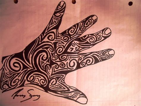 hand tribal tattoo designs tribal by deidara fangurl on deviantart
