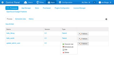 Etl Manager by Etl Process Manager