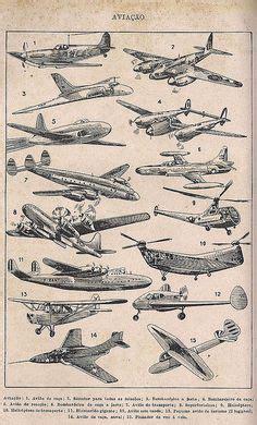 quot takeoff quot large vintage aviation cockpit triptych a airplane diagram aviation print vintage illustration