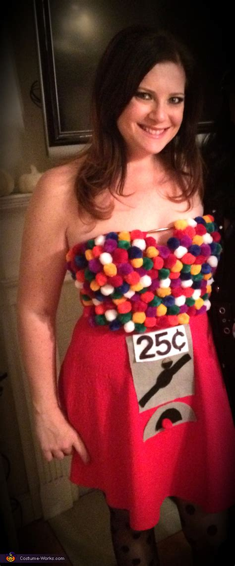 gumball machine costume idea  women diy costumes