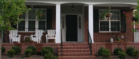 front porch front porch design idea with brick