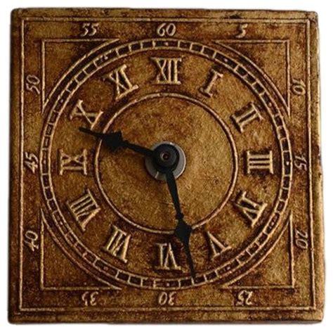 Handmade Ceramic Wall Clocks - zsofia istvan handmade ceramic wall clock golden