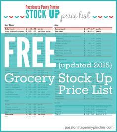 printable grocery coupons october 2015 stock up price list printable totally free and awesome
