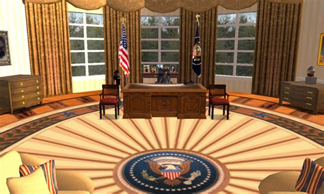 virtual decorating virtual oval office second life