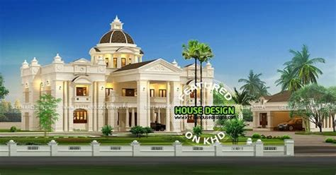 mansion home designs luxurious mansion home in kerala kerala home design and