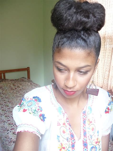 high buns black hairstyles for african american women fun with natural hair buns nappy headed black girlnappy