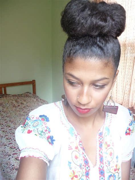 high bun for black women fun with natural hair buns nappy headed black girlnappy