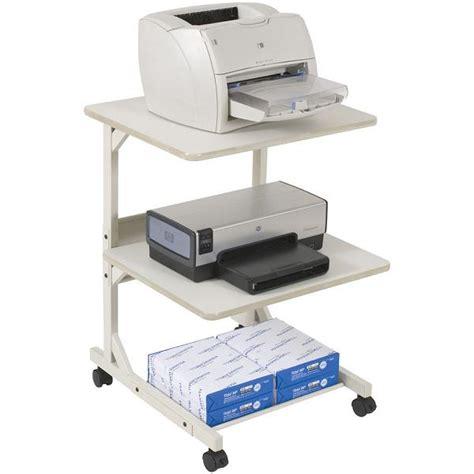 Balt Kat 2 Dual Laser Printer Stand 23701 Printer Desk Top Printer Stand
