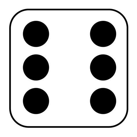 printable dice numbers math noah s ark homeschool academy