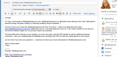 email format sending company profile small business customer acquisition for your freemium