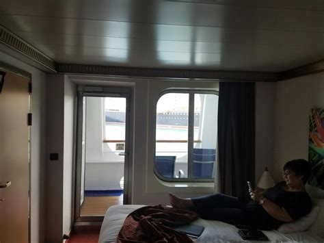 Balcony Cabin 2401 on Carnival Magic, Category 7C