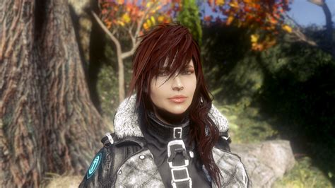 hair and face models fallout 4 attractive female faces for characters and npcs mod mod