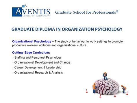 Masters In Psychology With Mba by Aventis School Of Management Graduate Diploma