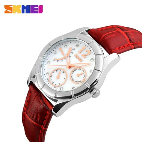 Produk Baru Skmei Fashion Sk79096 Original White esiafone luxury happy sale skmei charm fashion jam tangan wanita original