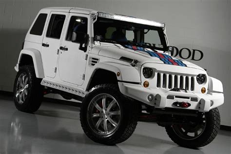 Jeep Hemi For Sale For Sale Jeep Wrangler Unlimited Martini Hemi Edition