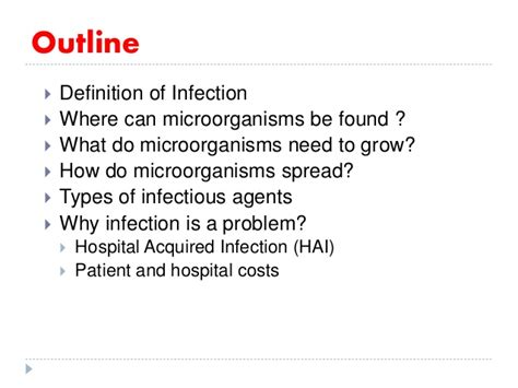 introduction to infection