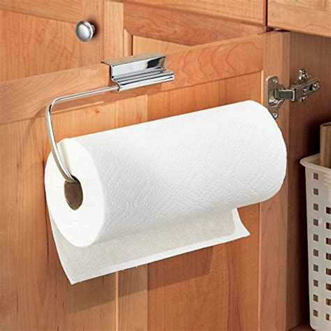 Interdesign Axis Over The Cabinet Paper Towel Holder Paper Towel Holder Inside Cabinet
