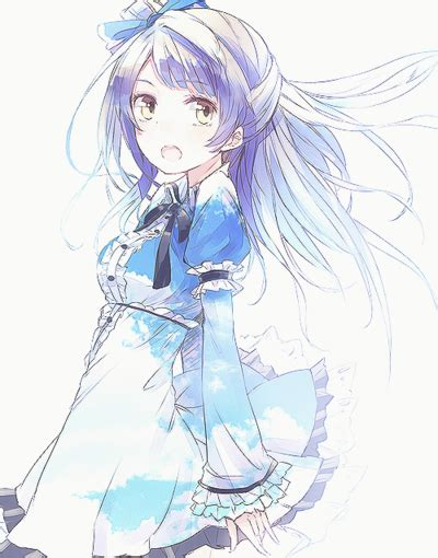 anime hairstyles tumblr anime blue hair on tumblr