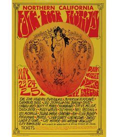 psychedelic music art on pinterest concert posters