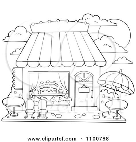 sweet shop coloring sheets coloring pages