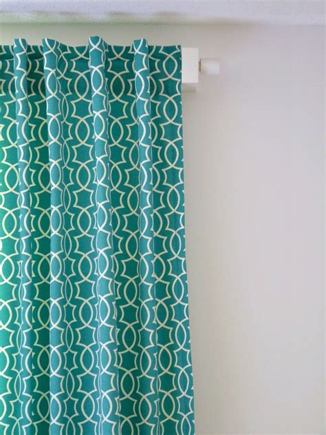 back tab curtains instructions remodelaholic simple sewn back tab curtains