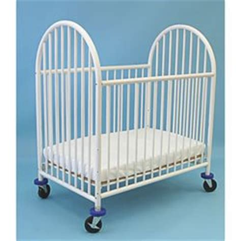Black Friday La Baby Metal Super Mini Port A Crib White Metal Mini Crib