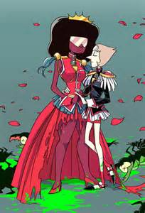 Fanart cartoon network pearl utena garnet anthy steven universe first