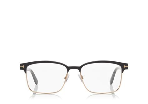 tom ford square metal optical frame tomford