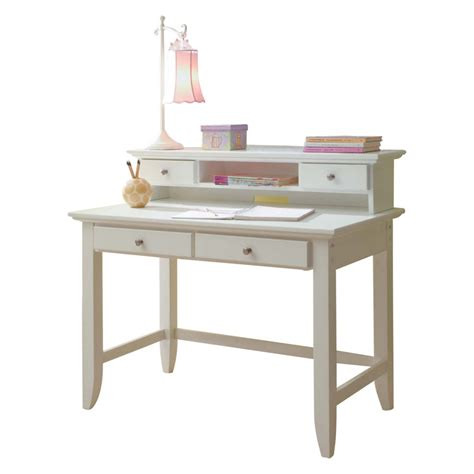 Small White Writing Desk Home Styles Naples Student Desk White Desks At Hayneedle Within Small White Writing Desk