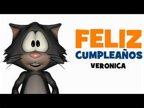 imagenes feliz cumpleaños veronica feliz cumplea 209 os veronica youtube