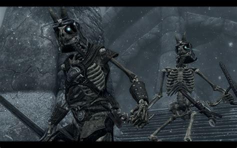 skyrim knight of skeleton armor mod armored skeletons and the walking dead at skyrim nexus