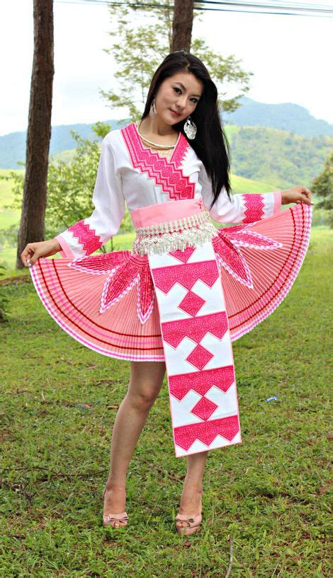 design hmong clothes pink hmong outfit hmong pinterest outfit and pink