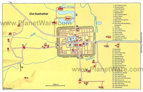 top rated tourist attractions  sukhothai planetware