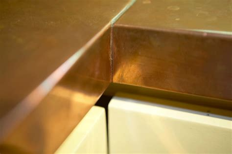 Brass Countertops by Copper Countertops By Mio Metals Copper Countertops