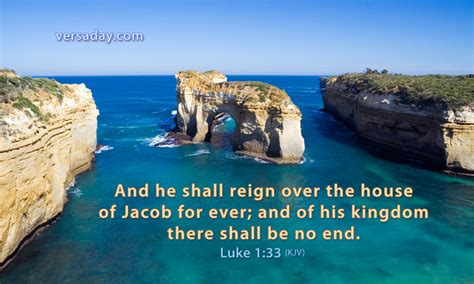 Luke 1 12 The Kingdom Has Come luke 1 33 verse for october 21