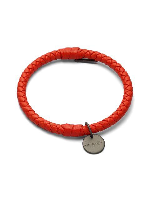 Bottega Veneta Bracelet bottega veneta intrecciato leather bracelet in
